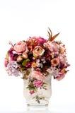 Fleur dans le vase à cru Photographie stock libre de droits
