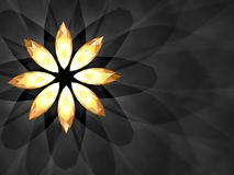 Fleur de bijou illustration libre de droits
