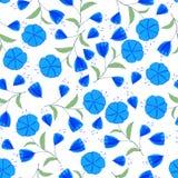 Fleur de bleu de Romantik Photos stock