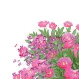 Fleur de bonheur Illustration Libre de Droits