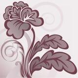 Fleur de Brown illustration libre de droits