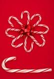Fleur de canne de sucrerie Image libre de droits
