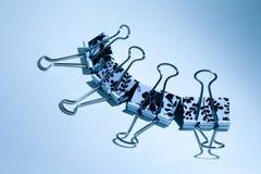 Fleur de clip de bouledogue - ambiance Image libre de droits