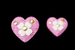 Fleur de coeur Photographie stock
