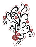 fleur de conception illustration stock