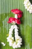 Fleur de dévotion, Bangkok, Thaïlande photographie stock libre de droits