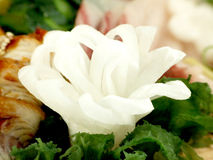 Fleur de Daikon Images libres de droits