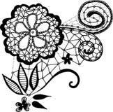 Fleur de dentelle Image libre de droits