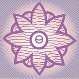 Fleur de dentelle de source illustration de vecteur