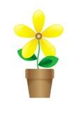 Fleur de dessin animé illustration de vecteur