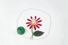 Fleur de drogue Illustration de Vecteur