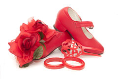 Fleur de Flamenca Images stock