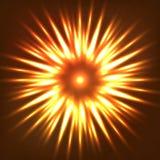 Fleur de flamme Photo libre de droits