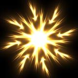 Fleur de flamme Photographie stock libre de droits