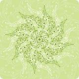 Fleur de fond, éléments pour la conception Illustration Libre de Droits