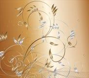 fleur de fond illustration stock