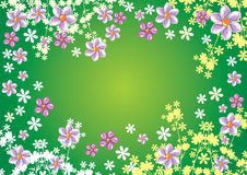 fleur de fond Images stock