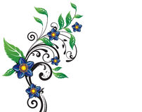 fleur de fond Photographie stock libre de droits