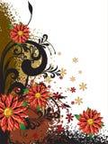 fleur de fond Photo stock