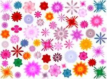 fleur de fond Photos stock
