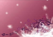 fleur de fond brillante Photos libres de droits