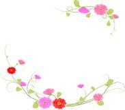 Fleur de fond, vecteur Photographie stock libre de droits