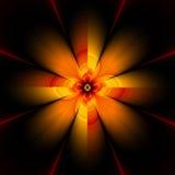 Fleur de fractale, 30H illustration libre de droits