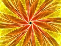 Fleur de fractale Photo libre de droits