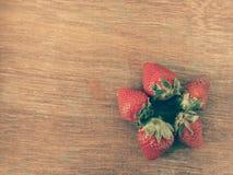 Fleur de fraise Photos stock