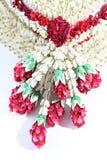 Fleur de guirlande dans le style thaïlandais Images stock