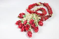 Fleur de guirlande dans le style thaïlandais Photos stock