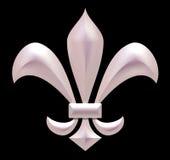 Fleur de lis Royalty Free Stock Image