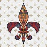 Fleur de lis Royalty Free Stock Images