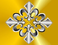 Fleur de lis abstract.. Stock Photography