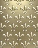 Fleur de lis background Stock Image