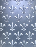 Fleur de lis background Stock Photo