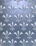 Fleur de lis background Stock Photo