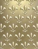 Fleur de lis background Stock Images