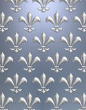 Fleur de lis background Royalty Free Stock Photos