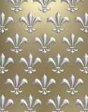 Fleur de lis background Royalty Free Stock Images