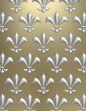 Fleur de lis background Royalty Free Stock Images