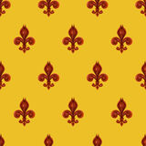 Fleur de lis background Royalty Free Stock Image