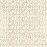 Fleur-de-lis beige repeat seamless pattern Royalty Free Stock Photography