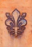Fleur de Lis de Florencia Imagen de archivo libre de regalías