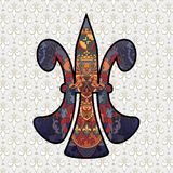 Fleur de lis design Royalty Free Stock Photo
