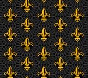 Fleur de lis design collection Royalty Free Stock Photography