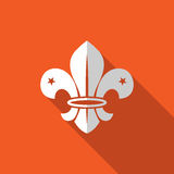 Fleur de lis - French symbol design, Scouting organizations, Stock Photography