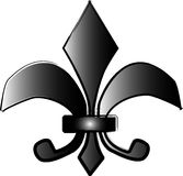 Fleur de lis illustration Stock Image