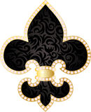 Fleur de lis illustration. Stock Photos