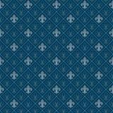 Fleur de lis pattern Stock Image
